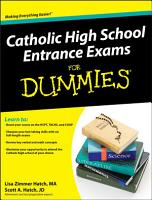 Catholic High School Entrance Exams For Dummies PDF