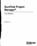 SureTrak Project Manager