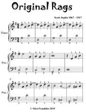 Original Rags - Easiest Piano Sheet Music for Beginner Pianists