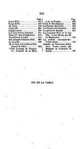 Recueil Choisi de Traits Historiques Et de Countes Moraux