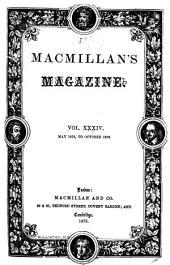 MacMillan's Magazine: Volume 34