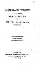 Opera di Baldinucci: Vocabolario toscano dell'arte del disegno