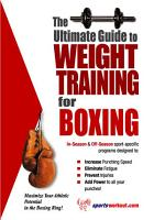 The Ultimate Guide to Weight Training for Boxing PDF