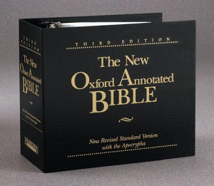 The New Oxford Annotated Bible-Loose-Leaf Format