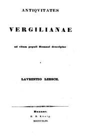 Antiquitates Vergilianae ad vitam populi Romani descriptae