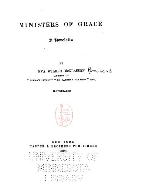 Download Ministers of Grace Book