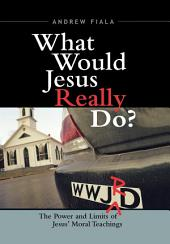 What Would Jesus Really Do?: The Power & Limits of Jesus' Moral Teachings