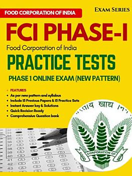 FCI Practice Papers 2019  Latest Pattern      Phase 1 exam   1ST Edition PDF