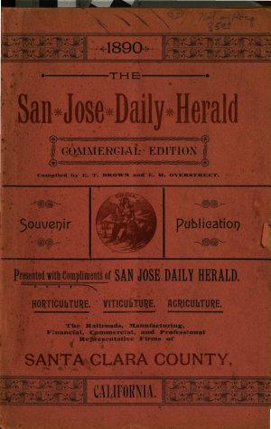 The San Jose Daily Herald Souvenir Publication