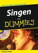 Singen f  r Dummies PDF
