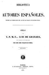 Obras del v. p. m. fray Luis de Granada: Volumen 2