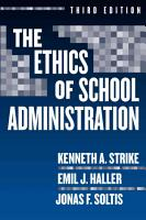 The Ethics of School Administration PDF