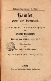Hamlet, Prinz von Dänemark: üebersetzt von Schlegel und Fried. Bühnen