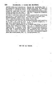 Nouvelle grammaire française, sur un plan très-méthodique: avec de nombreux exercices d'orthographe, de syntaxe et de ponctuation