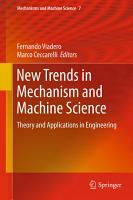 New Trends in Mechanism and Machine Science PDF