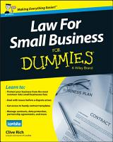 Law for Small Business For Dummies   UK PDF