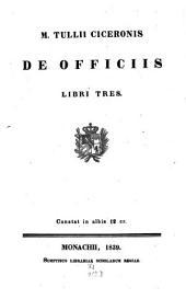 De Officiis: Libri III.
