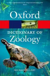 A Dictionary of Zoology: Edition 4