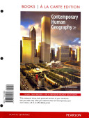 Contemporary Human Geography Book PDF