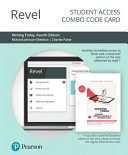 Revel for Writing Today Access Card PDF