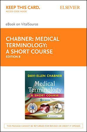 Medical Terminology  A Short Course   E Book PDF
