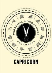 Capricorn: Personal Horoscopes 2012