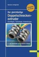Der gleichl  ufige Doppelschneckenextruder PDF