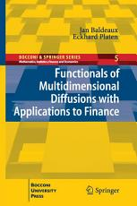 Functionals of Multidimensional Diffusions with Applications to Finance PDF