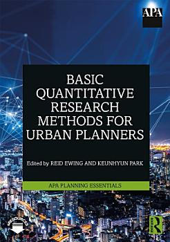 Basic Quantitative Research Methods for Urban Planners PDF