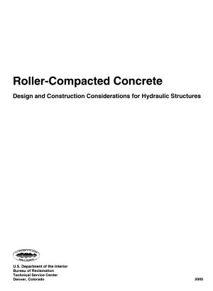 Roller compacted concrete PDF