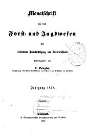Monatschrift für das Forst- und Jagdwesen: 1858