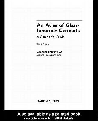 An Atlas of Glass Ionomer Cements PDF