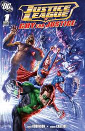 Justice League: Cry for Justice (2009-) #1