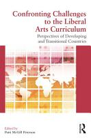 Confronting Challenges to the Liberal Arts Curriculum PDF