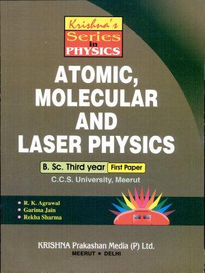 Atomic  Molecular and Laser Physics PDF