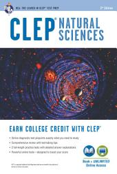 CLEP® Natural Sciences Book + Online: Edition 3