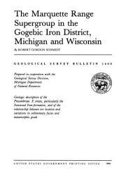 Geological Survey Bulletin: Issue 1460