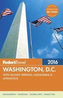 Fodor's Washington, D. C. 2016
