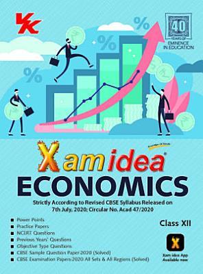 XamIdea Economics Class 12 CBSE  2020 21  Examination