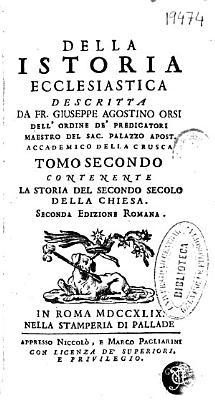 Della istoria ecclesiastica PDF