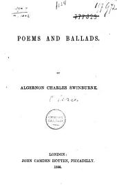 Poems and Ballads: Volume 1