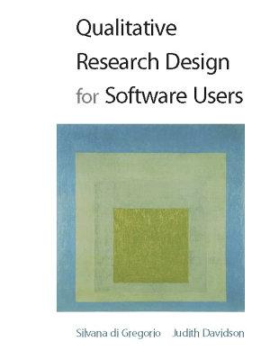 EBOOK  Qualitative Research Design for Software Users PDF