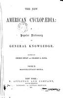 The New American Cyclopaedia  a Popular Dictionary of General Knowledge PDF