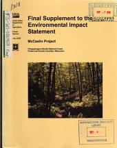 Chequamegon-Nicolet National Forest (N.F), McCaslin Project: Environmental Impact Statement