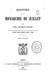 Histoire de la monarchie de juillet: Volume7