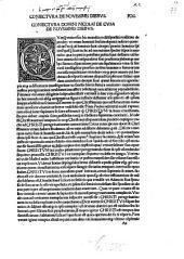 Opera: Cuius Universalem Indicem Proxime Sequens Pagina Monstrat. H[a]ec in hoc secu[n]do volumine contenta, Dialogus de ignoto, Dialogus de annunciatione .... 2