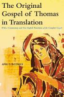 The Original Gospel of Thomas in Translation PDF