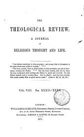 The Theological review [ed. by C. Beard].: Volume 8