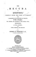 The Hecuba of Euripides PDF