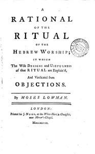 A Rational of the Ritual of the Hebrew Worship PDF